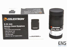 """Celestron 8-24mm 1.25"""" Deluxe Zoom Eyepiece - New boxed"""