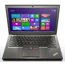 "Lenovo Thinkpad X250 - 12.5"" i5 4GB, 250GB Win10 Pro w/ Webcam Grade A"
