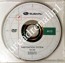09 2010 Subaru Impreza Wrx Sti Wagon Navigation Dvd Mid Il In Ia Mo Al Ar Ks Ky