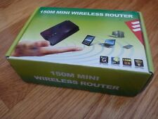 Mini Wireless Router 150m Compact Wifi Hotspot with Cable