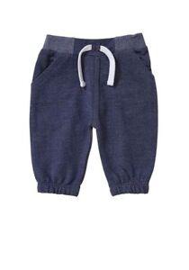 BNWT, Baby, Denim Effect, Joggers, Blue, Size 00, 3-6 Months