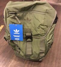 Adidas Urban Utility Backpack Bag School New Olive Green Sack Men's Women's B161