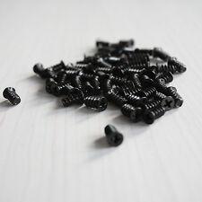 30PCS Black computer case cooling fan mount screws For Fan 60mm 80mm 120mm TOCA