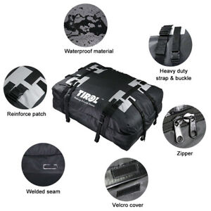 PVC Waterproof Cargo Carrier Luggage For Car Truck Roof Top Travel Storage Bag