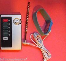 ELECTROSEX TENS E-STIM TONING SET WITH ADJUSTABLE RING AND STEEL URETHRAL BAR