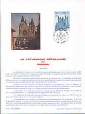 FA25 Editions Frisch La cathédrale Notre-Dame de Tournai cachet 13-2-1971 Tourn.