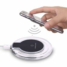 BASE CARGADOR UNIVERSAL INALAMBRICO QI WIRELESS SIN CABLES SAMSUNG IPHONE MOVIL