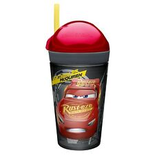Cars Zak Snak ~ 10 oz Cup & 4 oz Snack Cup ~ Lightning McQueen ~ Ships Free!!!