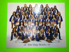 NEW Official 2019-2020 DALLAS COWBOYS CHEERLEADERS Photo 8.5 x 11 inches