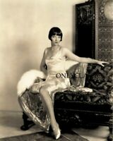 1928 RARE LOUISE BROOKS 8X10 PHOTO BY E.R. RICHEE BOB CUT PINUP GLAMOROUS BEAUTY