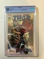 THOR #4 CBCS 9.0 1st Cameo of Black Winter Marvel 2020