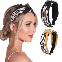 Women's Fabric Knot Turban Headband Tie Hairband Hair Band Hoop Accessories