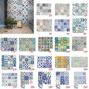 PVC Fliesenaufkleber für Küche und Bad Mosaik Wandfliesen Aufkleber Klebefolie