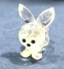 Cute Little Crystal Mini Rabbit Figurine,Excellent Cond