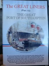 More details for the great liners part 15 the great port of southampton dvd
