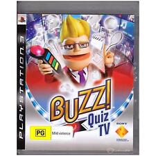 PLAYSTATION 3 BUZZ QUIZ TV PAL PS3 [ULN] YOUR GAMES PAL