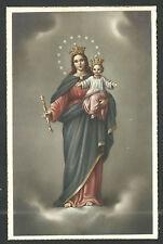 Postal antigua Virgen Maria Auxiliadora andachtsbild santino holy card santini