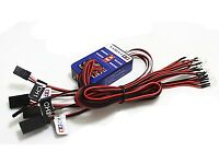 12 LED Simulation Lights Smart System Flash Lighting for RC 1/10 Car
