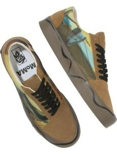 Vans X MoMA Old Skool Twist Salvador Dali Sneakers Mens 7.5 Womens 9 NEW