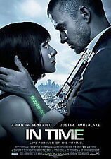 In Time (DVD + Digital Copy), Very Good DVD, Olivia Wilde, Alex Pettyfer, Cillia
