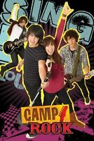 CAMP ROCK FILMPOSTER SING IT LOUD KINOPLAKAT FILMPLAKAT MOVIE FILM POSTER