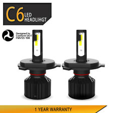 2×H4 LED Headlight Bulb 3200LM 40W Kit Lamps For 1999-2000 HYUNDAI Elantra LXC