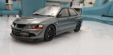 1:18 Mitsubishi Lancer Evo 8 Mr fq-400 gris voiture miniature OTTOmobile NEUF dans sa boîte