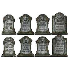 Halloween Tombstone Wall Cutouts 4 Pack Halloween Party Decorations & Supplies