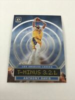 2019-20 DONRUSS OPTIC BASKETBALL ANTHONY DAVIS T-MINUS 3,2,1 INSERT  #2 Lakers
