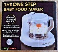 Baby Brezza One Step Homemade Baby Food Maker Bpa Free White Gently Used