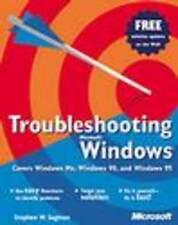 Sagman, Stephen W. : Troubleshooting Windows (Eu-Undefined)