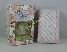 L'ERBOLARIO Sapone profumo ROSA 100g donna in scatola soap rose scent in box