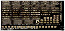 BRIGHTON BELLE HORNBY PULLMAN CAR NAMES SET 2 INC W CHURCHILL CARS LHP HD065C