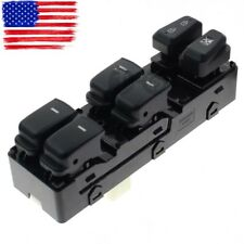 Front Left Driver Side Master Power Window Switch for Hyundai Sonata 2011-2015
