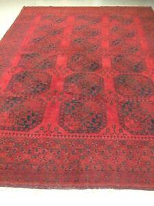 antico-swiss Beautiful Antique ERSARI rug  8`x 10`6 ft