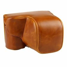 PU Leather Camera Case Bag For Sony A6000 ILCE-6000L NEX-6 with 16-50mm Lens