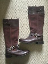Timberland earthkeeper bethel buckle tall riding style boots. Burgundy. size 5