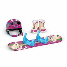 """American Girl MY AG SNOWBOARD & GEAR for 18"""" Dolls Winter Accessories Boots NEW*"""