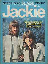 Jackie Magazine 12 May 1973 No.488    The Sweet    David & Andy Williams   Slade
