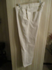 Womens New Without Tags 14 Liz Claiborne Cream or Ecru 5 Pocket Jeans