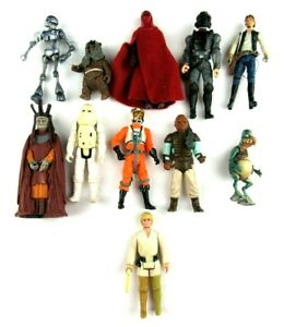 Mixed Lot of 11 Vintage Star Wars Action Figures