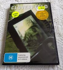 CLOVERFIELD- DVD, 2-DISC LIMITED EDITION, R-4, NEW, FREE POST AUS-WIDE