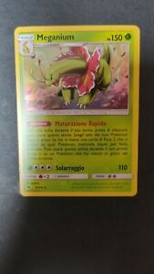 🌸 Meganium 008/214 - ITA NEAR MINT - Pokémon Lost Thunder - RARE HOLO 🌸