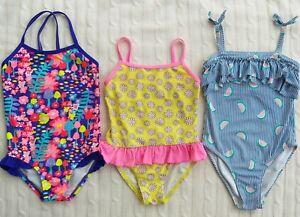 Girl's size 6 Speedo/Kmart Swimsuit Bundle x 3 Pces