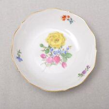 Meissen Blume 3, Rose, Männerherzen Schälchen / Schale, 11cm, 1.Wahl, TOP