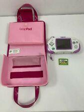 Leapfrog Leapster Explorer Purple Learning System + Pink Fashion Handbag + Game