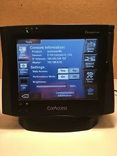 3 CorAccess System Companion Home Control Panels with 3 Charging bases