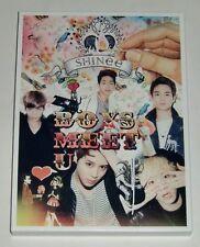 SHINee Boys Meet U Japan First Limited CD+DVD+Photo Book