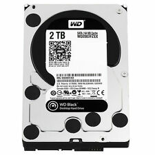 "Western Digital 3.5"" Black WD2003FZEX 2TB 7200RPM SATA3 64M Cache Desktop HDD"