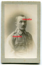 Foto CDV K.u.K. Portrait Österreich Kaiserjäger mit Orden Rosenheim